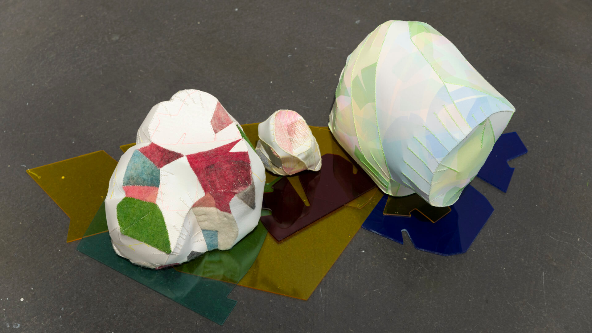 Installation view of Playground Chitchat. Detail of work by Neah Kelly. Image credit: Sarah Fuller.