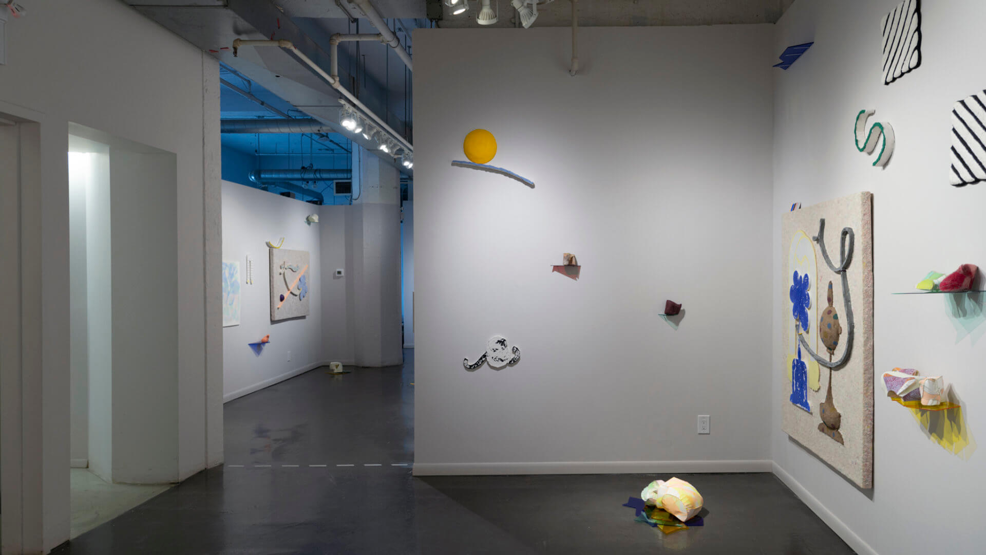 Installation view of Playground Chitchat. Image credit: Sarah Fuller.